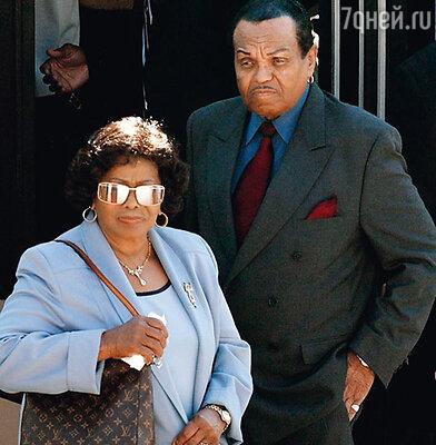 Кэтрин и Джозеф Джексон прожили вместе больше 60 лет
