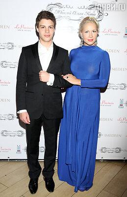 Екатерина Одинцова с сыном