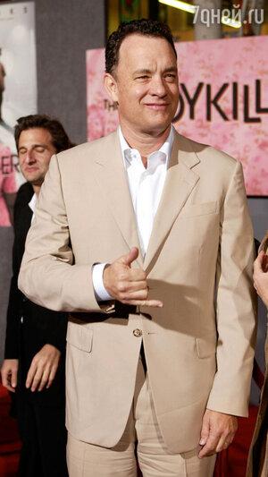 Том Хэнкс в Голливуде. 2004 год