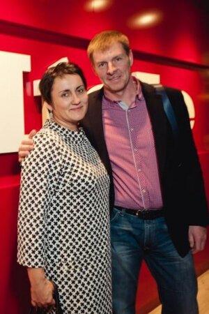 Александр Зубков с супругой