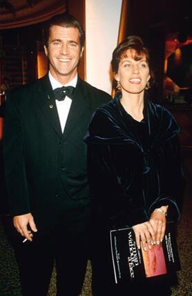 С женой Робин. 1993 г.