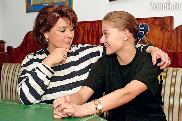 Лариса Голубкина и Мария Голубкина