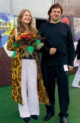 Анастасия Немоляева и Федор Дунаевский на фестивале «Окно в Европу» через 21 год после съемок в «Курьере»