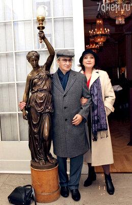 Писатель-сатирик Семен Альтов с супругой Ларисой