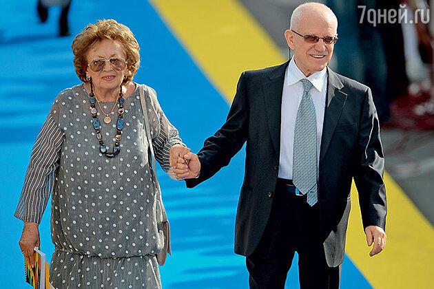 Александр Митта с супругой Лилией Моисеевной