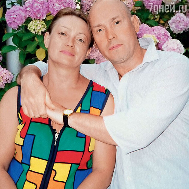 Виктор Сухоруков с сестрой Галиной