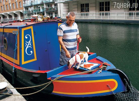 Некоторые кэмденцы живут прямо на своих лодках