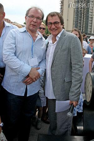 Дмитрий Дибров и Юрий Розум