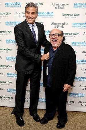Джордж Клуни и Денни Де Вито