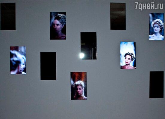 Проект выставки «Замеpзшие видеопоpтpеты» британского художника и фотографа Дэвида Биpкина