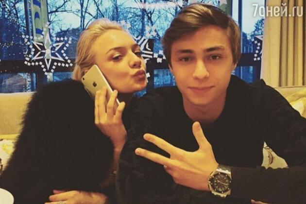 Дмитрий Маликов-младший с погибшей подругой
