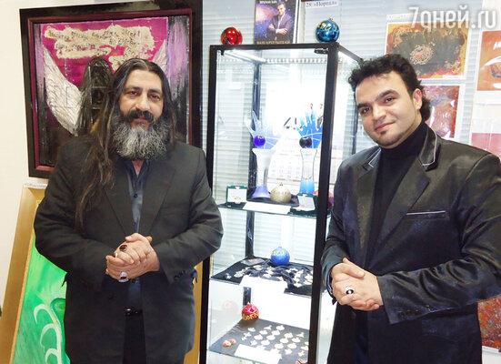 Мохсен Норузи и его наставник Мехди Эбрагими Вафа