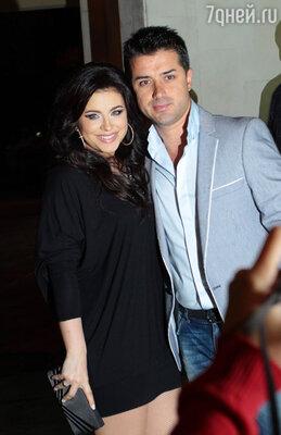 Ани Лорак с супругом Муратом