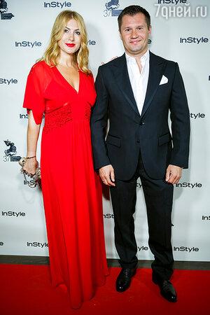 Алексей Немов с женой
