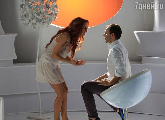 Съемки клипа на песню «Я ветер»