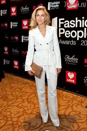 Юлия Ковальчук на церемонии вручения премии «Fashion People Awards- 2013»