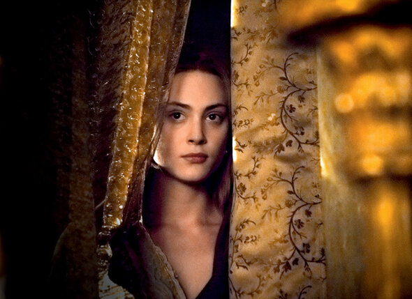 Кадр из нового фильма «Анжелика, маркиза ангелов». 2013 г.