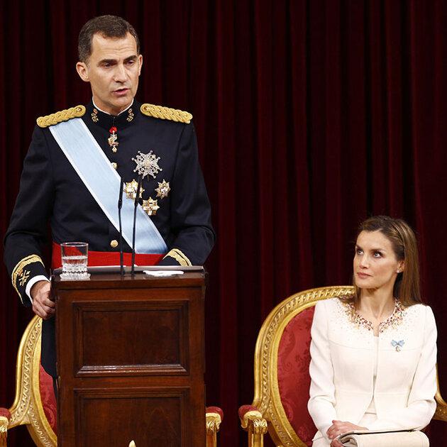 Принц Фелипе и Летиция Ортис