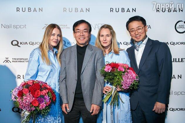 Сестры Рубан и их корейские партнеры