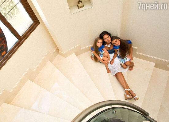 Дом на Средиземном море — любимое место отдыха семьи