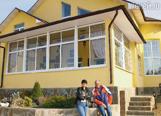 «Дом у нас получился не очень большой, зато уютный»