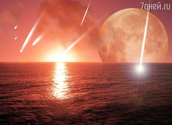 Прилетающие на Землю метеориты — осколки комет могут нести окаменелые бактерии