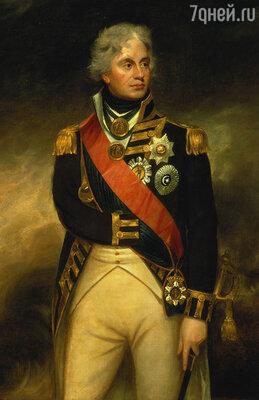 За бой у Сент-Винсента Нельсон получил орден Бани, дававший право на дворянство, одновременно подоспел чин контр-адмирала...