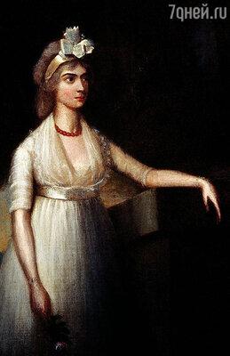 Фанни удивлялась самой себе: за мужа она вышла по расчету, а любила Горацио все сильнее. Фото репродукции картины Ричарда Косуэя «Леди Нельсон». Частная коллекция