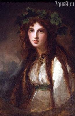 У любовницы Нельсона, Эммы, до Горацио было множество мужчин.  Фото репродукции картины Джорджа Ромни «Эмма Гамильтон в образе Вакханки»