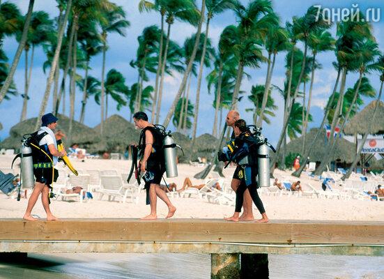 Доминикана — рай для любителей дайвинга