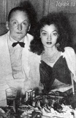 Александр Вертинский с невестой Лидией Циргвавой. Шанхай, 1941 г.