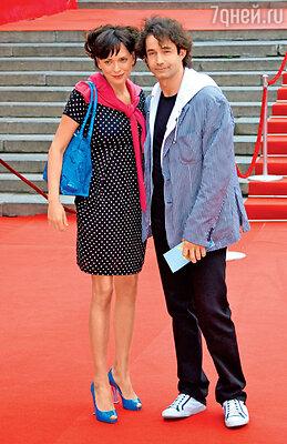 Ольга Дроздова и Дмитрий Певцов на 30-м ММКФ. 2008 г.