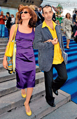 Ольга Дроздова и Дмитрий Певцов на 27-м ММКФ. 2005 г.