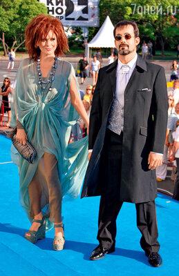Ольга Дроздова и Дмитрий Певцов на фестивале «Кинотавр». 2012 г.