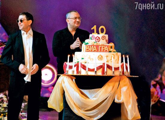 «Всю мою биографию можно поделить на две части: довстречи с Меладзе и после…» Музыкальный продюсер Константин Меладзе на праздновании 10-летнего юбилея группы
