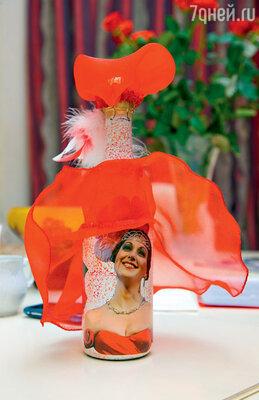Любимый подарок оттеатральных зрителей: шампанское «hand made» «Дамочка»