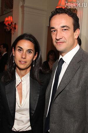 Оливье Саркози и Шарлотта Бернар