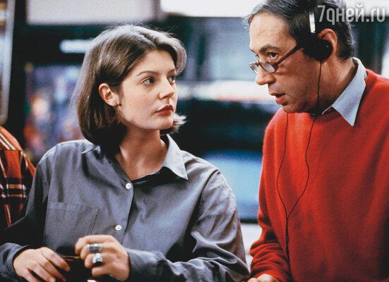 Кьяра с режиссером Андре Тешине в фильме «Любимое время года», 1993 год