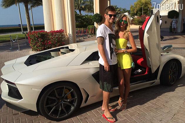 Виктория Лопырева и Федор Смолов провели медовый месяц на Мальдивах