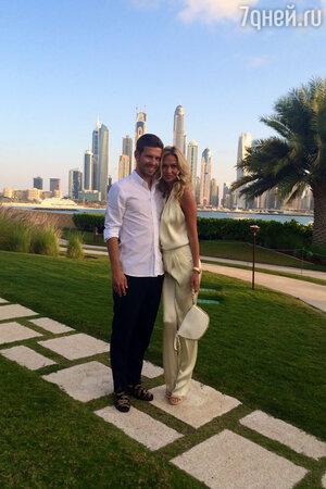 Виктория Лопырева и Федор Смолов провели медовый месяц на Мальдивах и в Дубае
