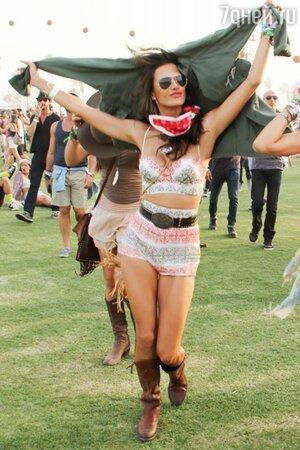 Алессандра Амбросио Coachella 2014