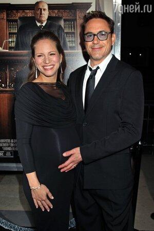 Роберт Дауни-младший с супругой Сьюзан