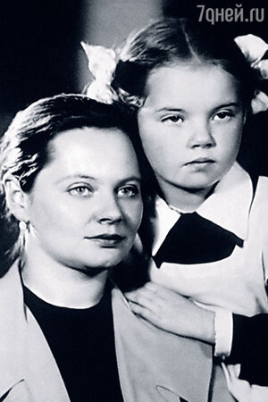 Наталия Воробьева-Хржич с мамой