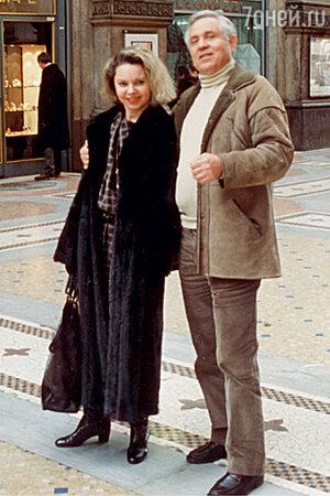 Наталия Воробьева-Хржич с отцом