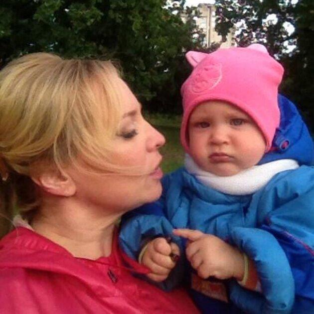 Светлана Пермякова с дочерью Варей