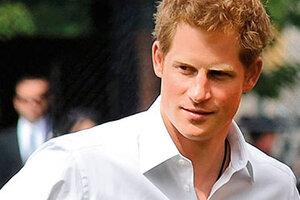 Принц Гарри признан самым красивым представителем монархии