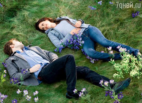 Стефани Майер приснился сон — вампир и влюбленная в него девушка на лесной поляне...