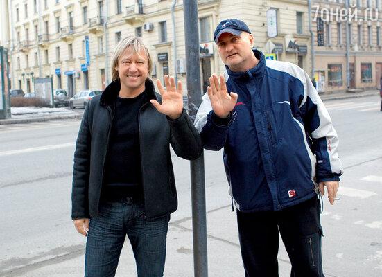Дмитрий Харатьян и Александр Балуев