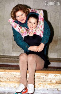 Жанна Федоровна тренирует Слуцкую с самого детства