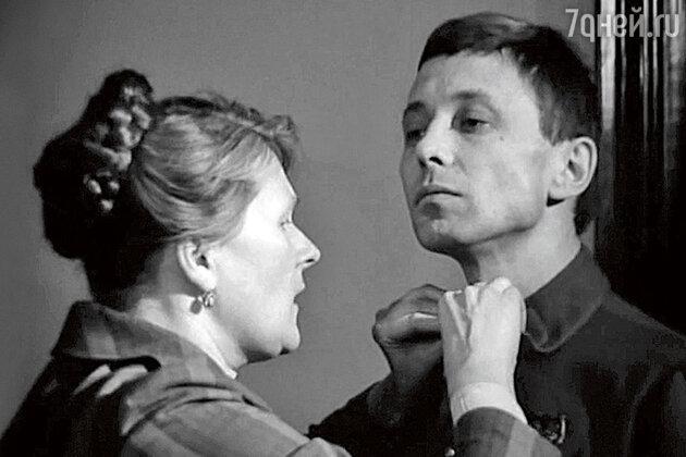 Людмила Иванова и Олег Даль в фильме «Вариант «Омега». 1975 г.